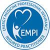 Energy Medicine Professional Insurance Insured Practitioner Logo